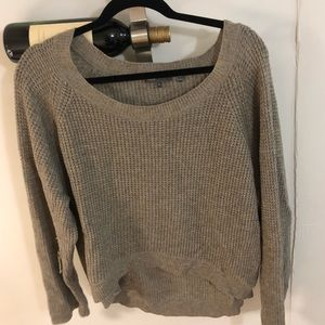 Vince waffle knit sweater